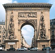 arc de triomphe de la porte st denis