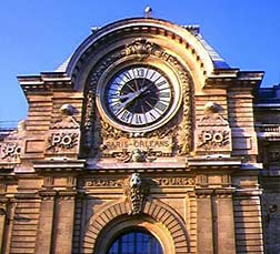 Clock portal at Musee d'Orsay.