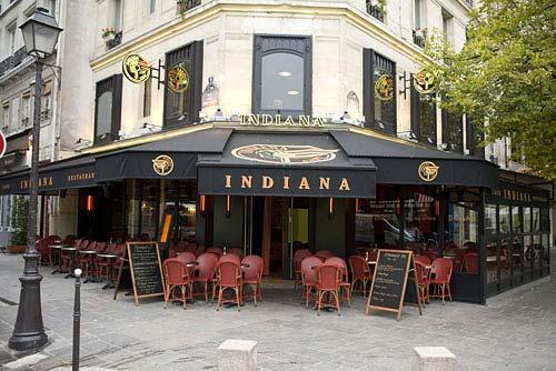 Indiana bastille paris for Restaurant bastille terrasse